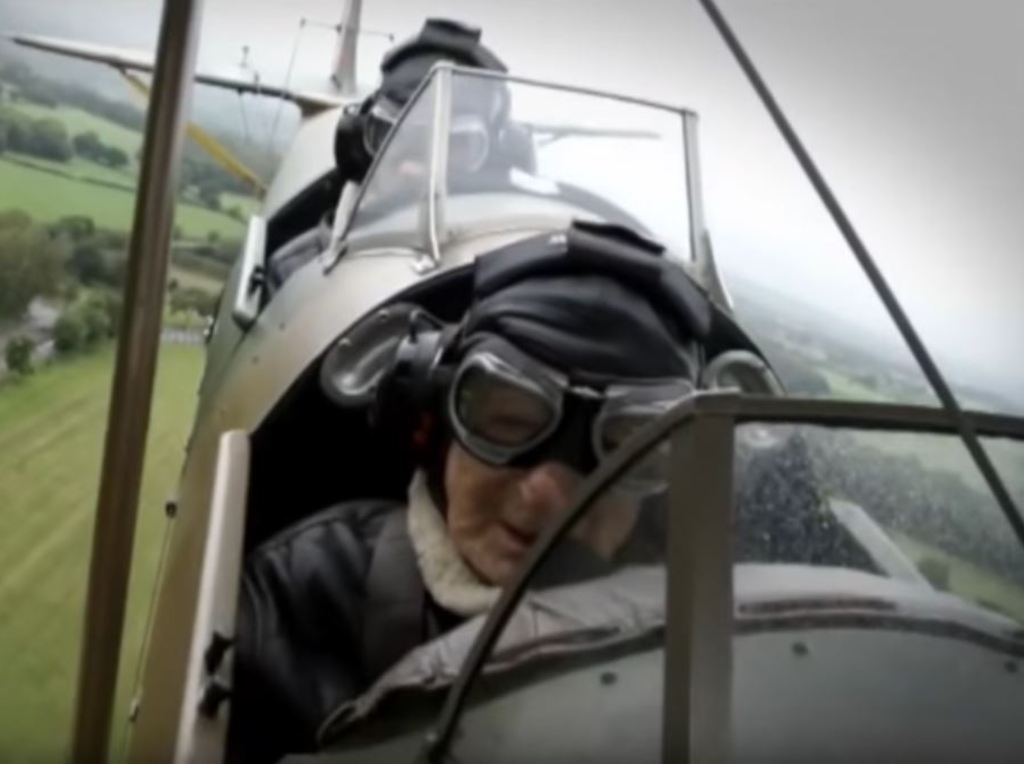 Guinea Pig Club veteran takes to the skies for 'final