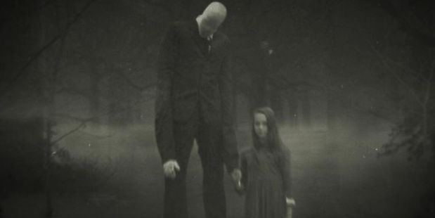 One of the more famous images of the Slenderman. Photo/Supplied