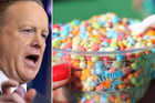 Dippin' Dots, an American icecream brand, has reached out to the White House Press Secretary Sean Spicer.