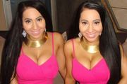 Anna and Lucy DeCinque have spent nearly $250,000 on plastic surgery to try and look more like each other, but were recently diagnosed with body dysmorphia. Photo / AnnaLucy Decinque Instagram