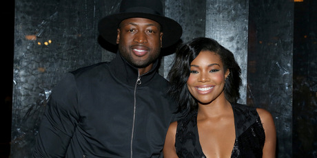 Actress Gabrielle Union (R) and NBA player Dwyane Wade (L). Photo / Getty