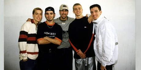 Lance, Chris,Joey, Justin, JC from NSYNC. Photo / Getty