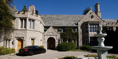 The Playboy Mansion in Los Angeles, California. Photo / Reuters