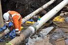 The Ruakaka to Auckland pipeline has been repaired. Photo / Dan McGrath