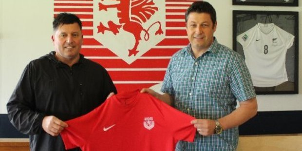 Mark Cossey and Shane Combers will take charge of Claudelands Rovers men's first team next season.