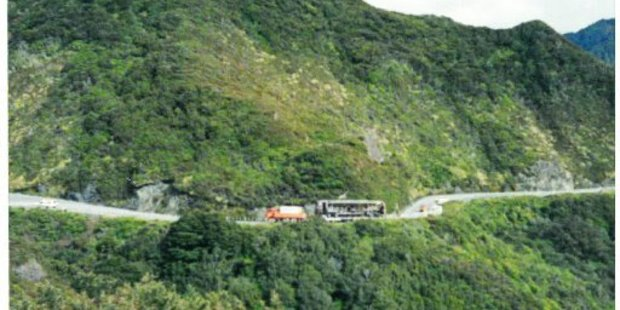 The only time a Wairarapa railcar has ever traversed the Rimutaka Hill Road.