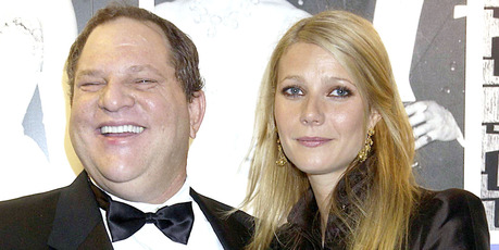 Gwyneth Paltrow With Harvey Weinstein, The 50th Anniversary Gala Of The National Film Theatre. Photo / Getty