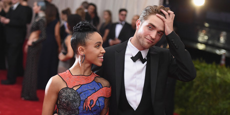 FKA Twigs and Robert Pattinson attend the Met Gala. Photo / Getty