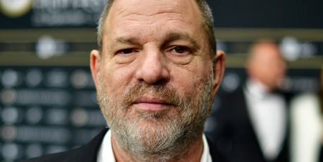 Harvey Weinstein attends the 'Lion' premiere and opening ceremony of the 12th Zurich Film Festival. Photo / Getty
