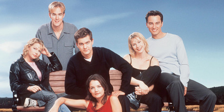 The cast of Dawsons Creek. Photo / Getty