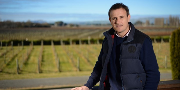 Hawke's Bay Winemakers Association chairman Michael Henley.  Photo/File