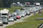 Motorists heading home after school holidays urged to plan their travels and drive safe. Photo / File
