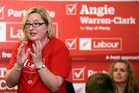 New MP Angie Warren-Clark speaks at a Labour Party meeting in Tauranga ahead of the election. Photo/George Novak