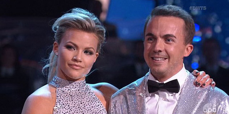 The 31-year-old (pictured with dance partner Witney Carson) spoke about suffering memory loss on Dancing With The Stars in which he is competing. Photo / ABC