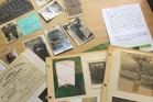 A collection of war memorabilia left behind in a Mt Eden restaurant will be reunited with its owners after an article in the Herald.