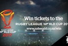 Win Quarter Final Tickets To The Rugby League World Cup