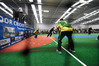 NZ v Australia Masters indoor cricket 45s at the Mount Indoor Centre. PHOTO/GEORGE NOVAK