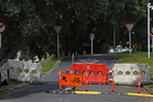 Cheeky motorists have been removing bollards at the Turret Rd end of 14th Ave to bypass traffic on 15th Ave. Photo/John Borren