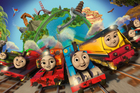 The new Steam Team appearing in the 2018 series of 'Thomas and Friends: Big World! Big Adventures!' Photo / AP