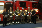 AWARENESS: The Extreme Walk to D'Feet MND Team from Fire and Emergency New Zealand. PHOTO: SUPPLIED