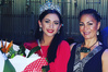 The new Miss Far North, Aaliyah Dane, left, with judge and Hits Northland host Charmaine Soljak.