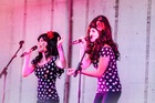 The Beat Girls enthralled the evening crowd at last night's show. Photo/Paul Taylor
