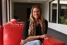 Chelsea Winter was in New Plymouth for the launch of her latest cook book on Monday. Photo: ILONA HANNE