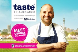 Win a VIP experience at Taste of Auckland with George Calombaris