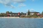 The Sudima Hotel Lake Rotorua.