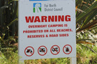 The voluntary beach wardens at Tokerau/Whatuwhiwhi have reportedly done a great job of deterring visitors from breaching the FNDC's camping rules, but have now lost council approval.