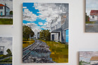 Martin Law has captured the beauty of local architecture with his series on show at Milbank Gallery. Photo / Bevan Conley