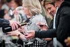 The Hawke's Bay Wine Auction kicked off with a tasting of auction lot wines this afternoon. Photo/Paul Taylor