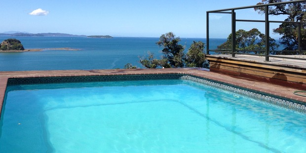One of the stunning views from the property. Photo / Bayleys Real Estate.