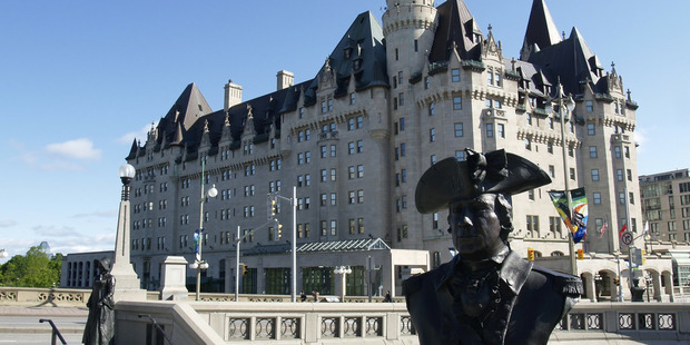 Chateau Laurier oozes a sense of history.