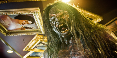 Lord of the Rings character, UrukHai inside the Weta Workshop in Wellington. Photo / Supplied