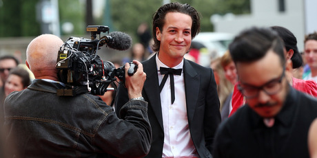 Singer Marlon Williams arrives at the Vodafone New Zealand Music Awards at Vector Arena on November 19, 2015 in Auckland, New Zealand. Photo / Michael Bradley