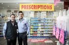Chemist Warehouse COO Rizman Haroon (left) and CEO Azman Haroon (right). Photo / Michael Craig