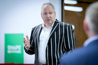 Xero chief executive Rod Drury at the company's Napier officer opening in June. Photo/File