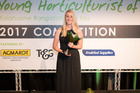 Shanna Hickling from Gisborne  is the Young Horticulturalist of the Year. Photo / Supplied