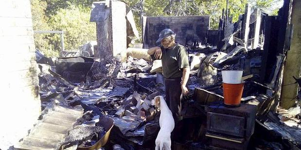 Owner, John Scott lost everything after a fire ravaged their Napier home last week.