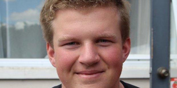 Stratford High School student Jackson Taylor.