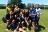 Irongate and Flaxmere school sevens players enjoy the inaugural U13 sevens. Photo/supplied