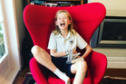 Turning 13, Gussie, is a milestone in the process of your mum easing back and letting you be you. Photo / Supplied