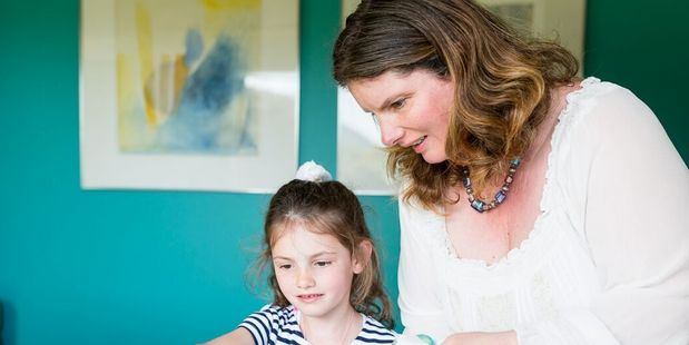 Waikanae art therapist Corinne Allan believes art is a therapeutic means of self expression for children.