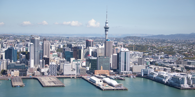 Auckland commercial property rateable values are on the rise. Photo / Richard Robinson