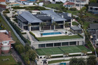 The 7-bedroom mansion in Orakei has a new rateable valuation of $46 million. Photo / Brett Phibbs