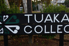 Tuakau College students have an unexpected day off after a power cut. Photo / File