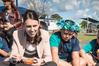 Labour leader Jacinda Ardern on the campaign trail at Rongomai School in Otara. Photo / Jason Oxenham