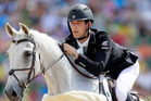 Clarke Johnstone on four star champ Balmoral Sensation. Photo / Getty Images