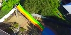 Watch: Perth tradie's fight with council over backyard waterslide